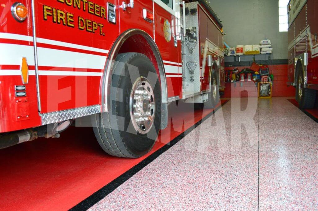 Crabtree VFD Vinyl Chip Polyaspartic Coating System
