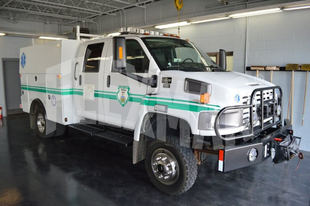 Medical Rescue Team South Authority EMS vehicle