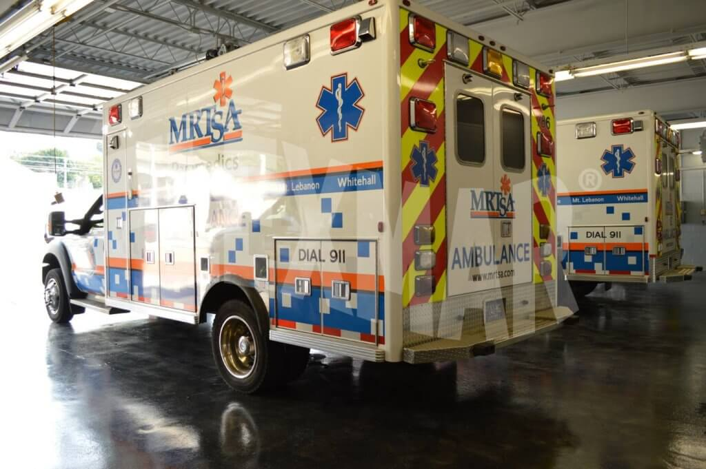 EMS vehicle flooring