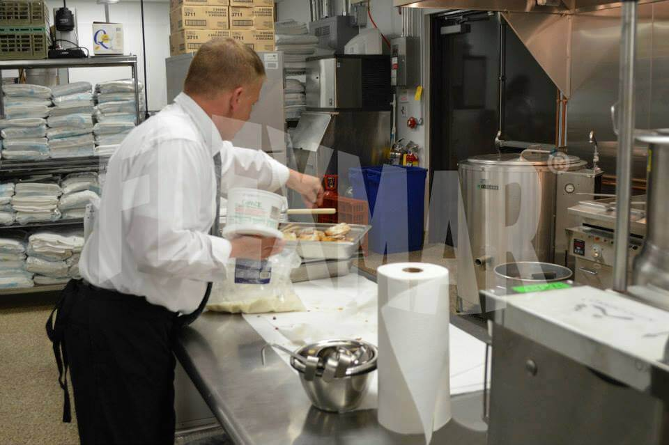 Rizzo's Malabar Inn kitchen