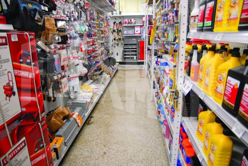 Greensburg Ace Hardware flooring