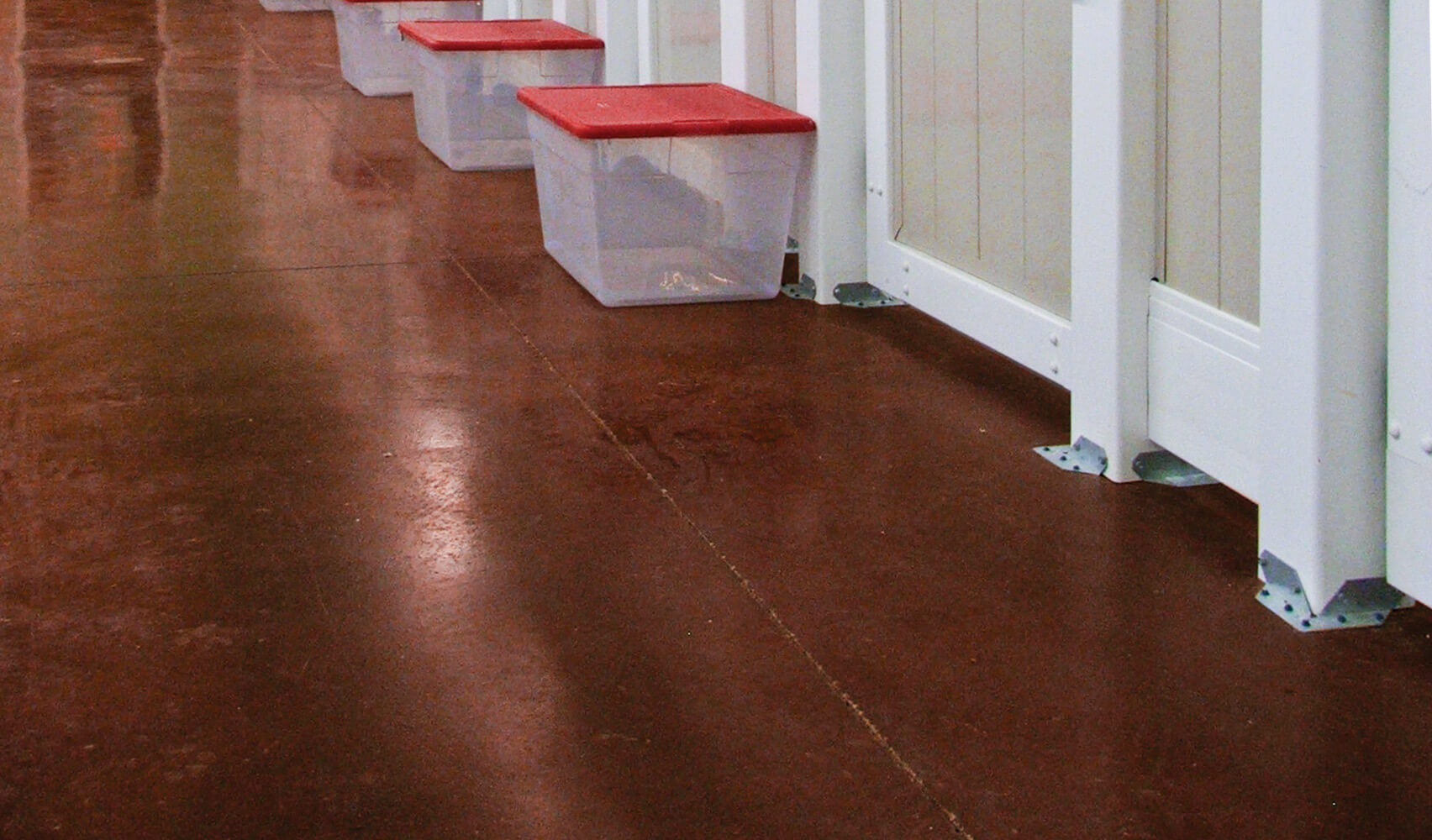 basement flooring coating brown