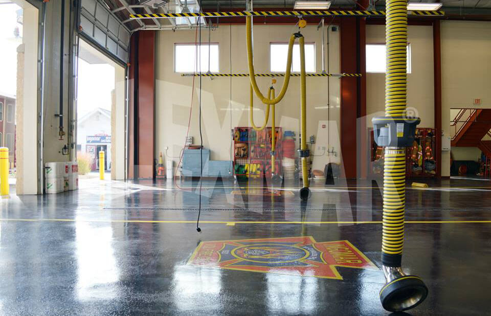 Flexmar Firestation flooring