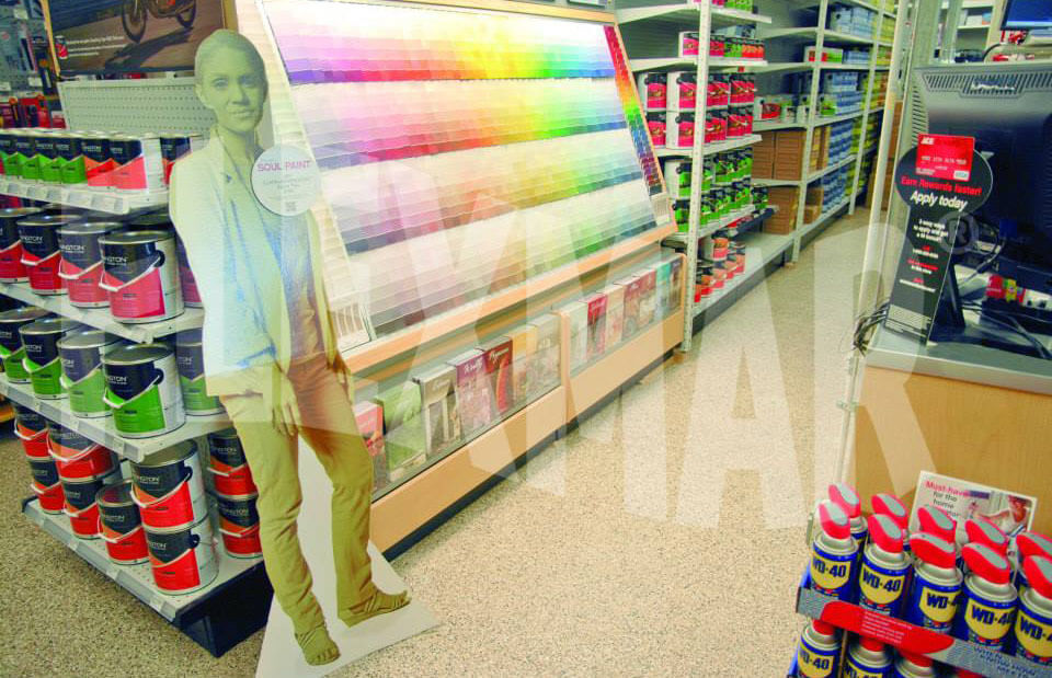 Flexmar Greensburg Ace Hardware Vinyl Chip Application
