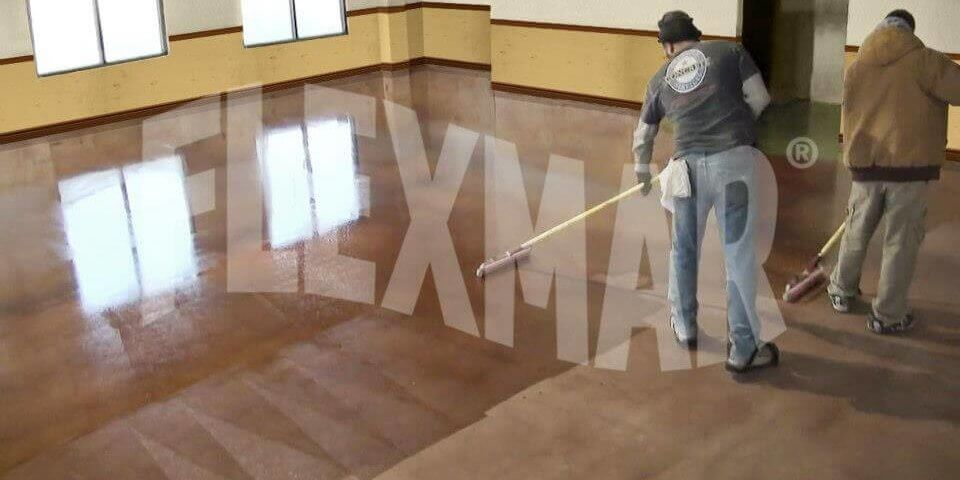 flexmar flooring application